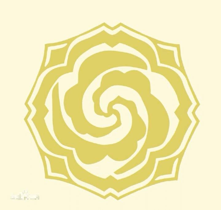 蘭陵金氏 牡丹紋