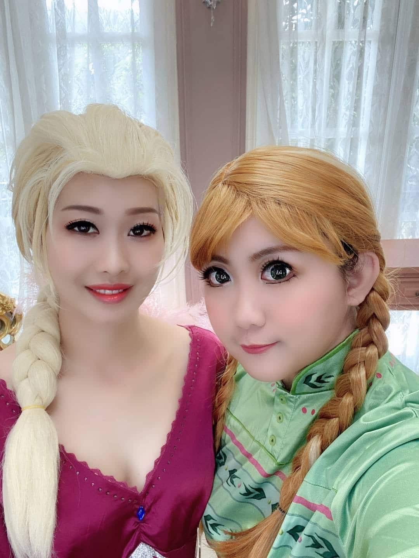 ELSA艾莎與ANNA安娜